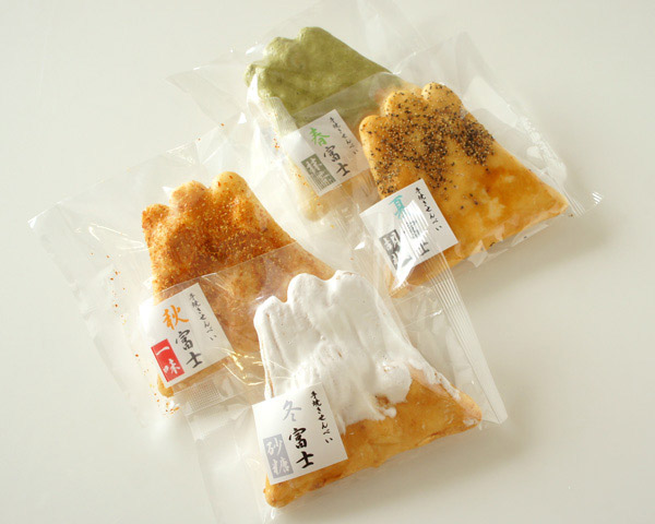 Mt Fuji rice crackers
