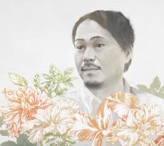 Azuma Makoto - illustration by Magdalena Dymańska