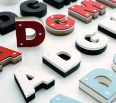 Block Typeface by Daikoku Design Institute