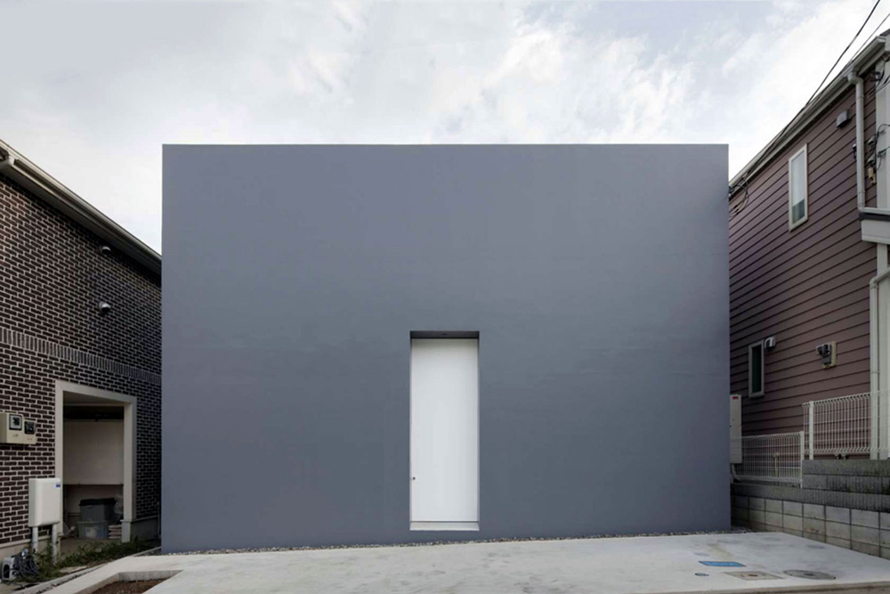 Cube House by Shinichi Ogawa & Associates - Japanese Design