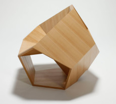 Dodecahedronic Chair by Hiroaki Suzuki