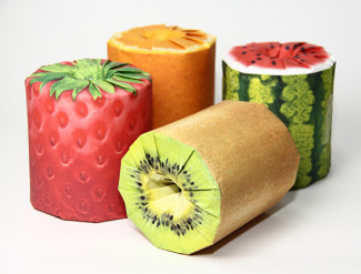 Fruits Toilet Paper by Latona Marketing
