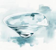 Glassware by Masaki Kusada - illustration by Magdalena Dymańska