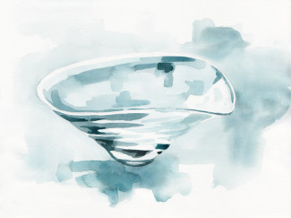 Glassware by Masaki Kusada - illustration by Magdalena Dymańska