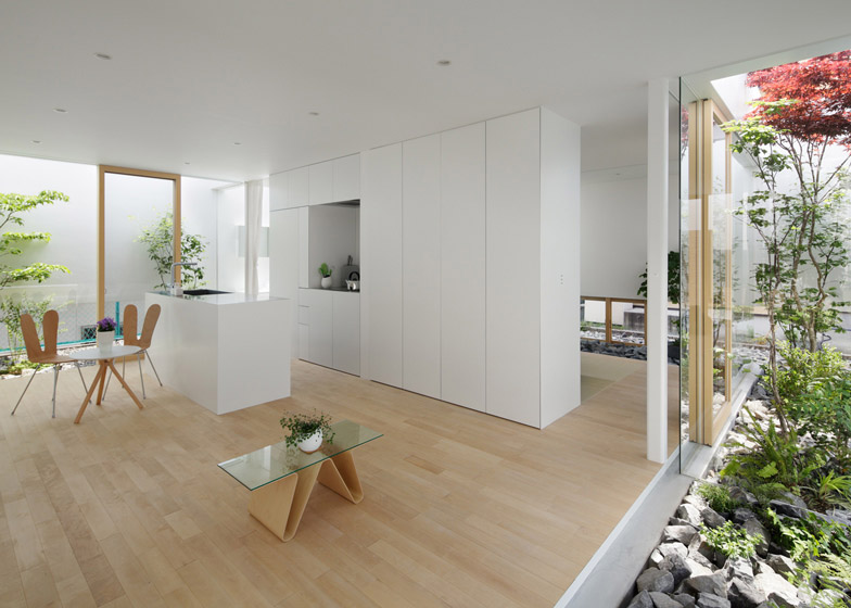 Green Edge House by mA-style Architects - Japanese Design
