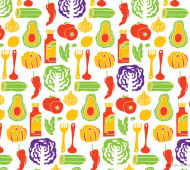 Pattern illustrations by Shunsuke Satake