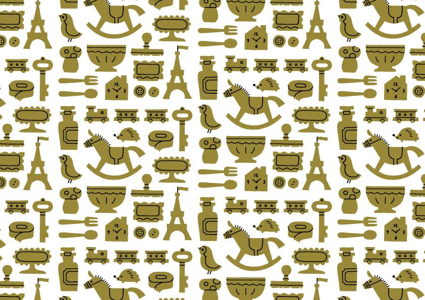 Pattern illustrations by Shunsuke Satake