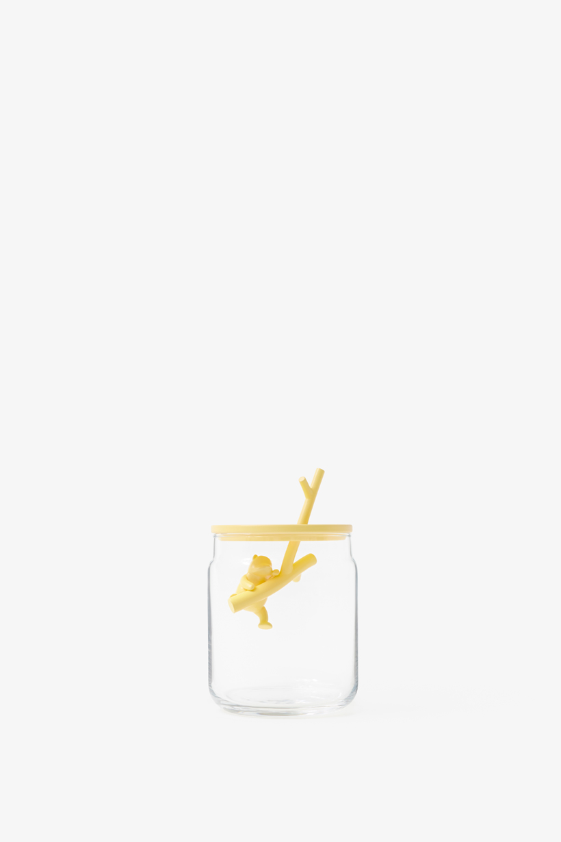 Pooh-Glassware Container by Nendo