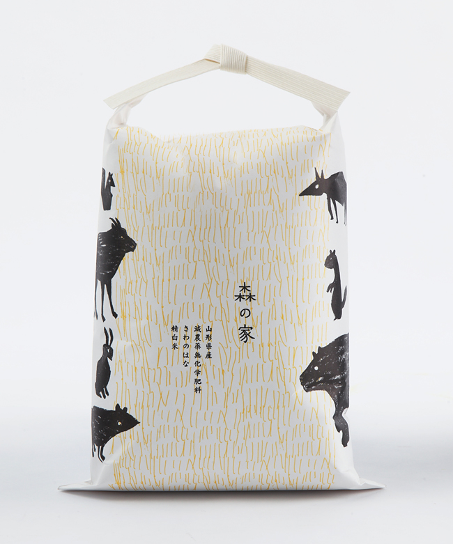 Rice Package by Akaoni Design