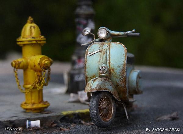 Miniature Dioramas by Satoshi Araki