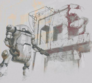 Satoshi Araki Dioramas - Illustration by Magdalena Dymańska
