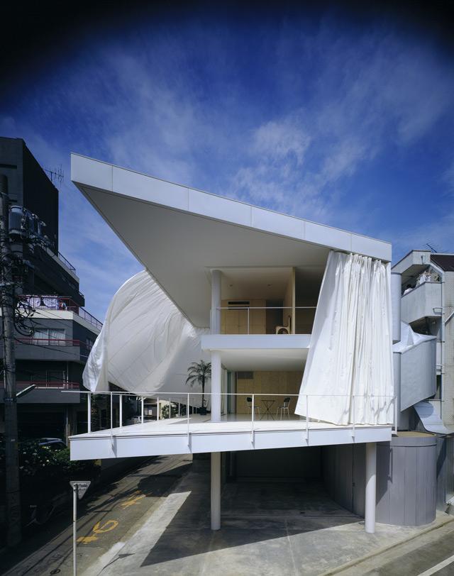 Curtain Wall House, 1995, Tokyo, Japan