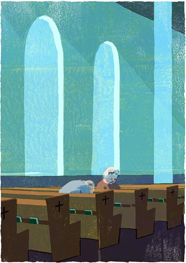 Book illustration by japanese illustrator Tatsuro Kiuchi