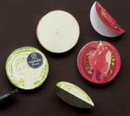 Vegetable blocks by Ko. Machiyama
