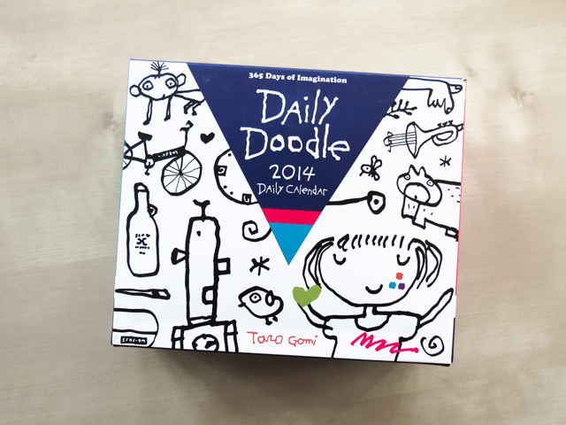 Daily Doodle Calendar 2014 illustrated by Taro Gomi