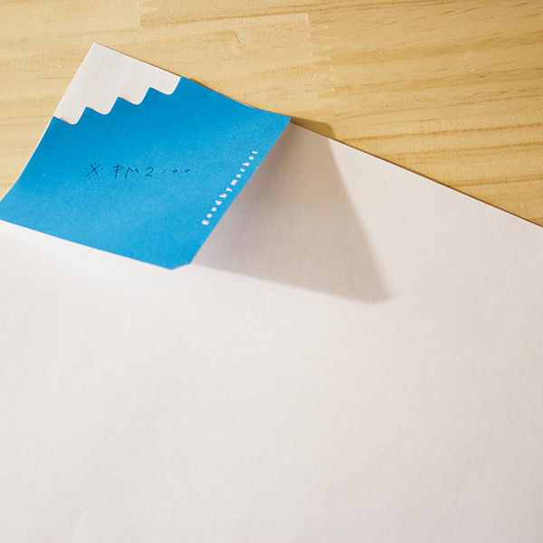 Fuji sticky note by Goodbymarket - goodbymarket.com
