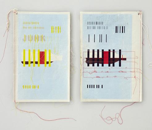 JAGDA TOKYO JUNK - posters by Kishino Shogo