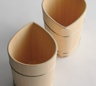 Champagne Cooler designed by Nakagawa Mokkougei